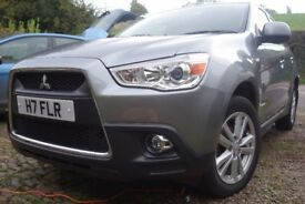 Mitsubishi ASX 4 Diesel 1.8 2011 full leather interior.