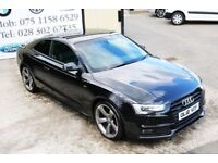 Audi A5 2.0 Tdi Quattro S-line Black edition 177bhp coupe (finance & warranty)