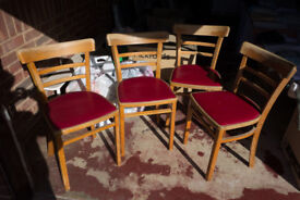 1940's Kitchen Chair / Chairs set of 4 / Four