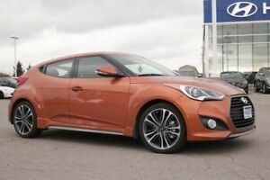 2016 Hyundai Veloster Turbo w/Orange Colour Pack