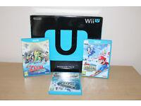 Nintendo Wii U Premium Pack + 2 Extra Games