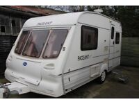 Bailey Pageant Majestic 2001 2 Berth Caravan
