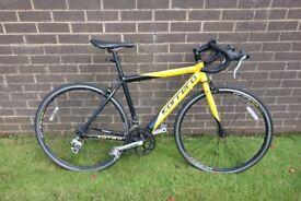 Carrera TDF road bike (size M), Lezyne lights, Cable lock
