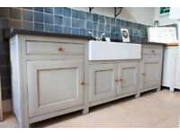 Fired Earth Ex-Display Kitchen Clearance - Free-standing Bastide Kitchen Sink Unit