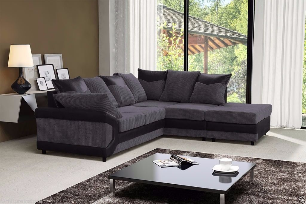 Jumbo Dianer CORD FABRIC CORNER SOFAS AND 3 AND 2 SEATTER SUITESin Tower Hamlets, LondonGumtree - CON.TACT INFOR IN THE FOLLOWING PIXTURES or 07903198072 BRAND NEW STYLISH DEENO SUITES AVAILABLE IN DOUBLE TONE COLOR BLACK GREY OR BROWN BEIGE RECOMMENDED RETAIL PRICE 599 OUR PIRCE 349 FOR 32 OR CORNER SUITE DIMENSIONS Corner to armrest 250cm...