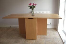 John Lewis solid wood Dining table seats 6