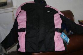 Brand new Motorbike jacket and Gloves