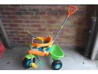 Child's Trike with parent handle