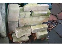 Pile of Bathstone, ideal for renovation projects or sculpting