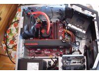 Gaming PC AMD Ryzen 7 1800X 16GB RAM 128GB SSD 1TB HDD Radeon R9 390X 8GB GPU VR