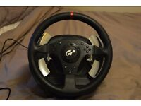Thrustmaster T500 RS Steering With 3 Pedal set.