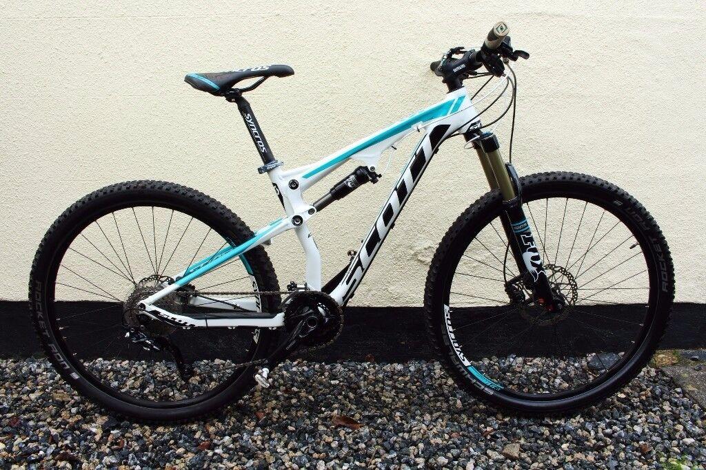 Ladies women's mountain bike SCOTT Contessa Spark 700 Full Suspension Mountain Bike