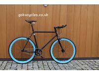 Special Offer GOKU CYCLES Steel Frame Single speed road bike TRACK bike fixed gear fixie bike w4
