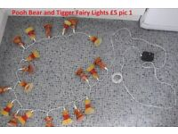 Pooh and Tigger fairy lights