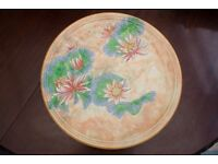 Royal Doulton large Round Charger plate Lily Pattern