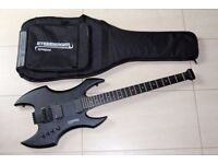 Steinberger Synapse Demon Baritone Trans-scale, near mint + Steinberger gig bag
