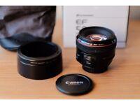 Canon EF 50mm 1.2 L USM Lens