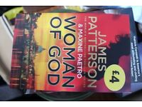 Woman of God- James Patterson £2 only