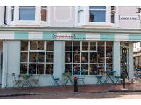 Talented chef Sugardough Cafe The Lanes Brighton FT days