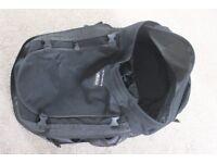 Backpack suitcase travel festival RTW gap year rucksack waterproof cover 70l