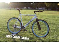 Special Offer GOKU cycles ALLOY / STEEL Frame Single speed road bike TRACK fixed gear bike WW0