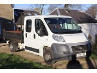 FIAT FIAT DUCATO 35 120 DOUBLE/CREW CAB TIPPER TRANSIT 2.3 6 SPEED 1 OWNER
