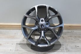 VAUXHAL GM VXR STYLE WHEELS 18INCH - GUN METAL GREY WITH A DIAMOND FINISH