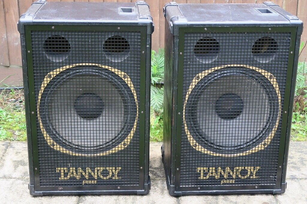 adiós realce Con rapidez  Wanted -Tannoy Puma speakers 1980s wanted | in Newport | Gumtree