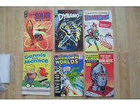 OLD COMICS FROM THE 1960s