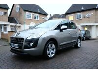 PEUGEOT 3008 1.6 HDI SPORT 5 DR ESTATE MANUAL FSH HPI CLEAR EXCELLENT CONDITION