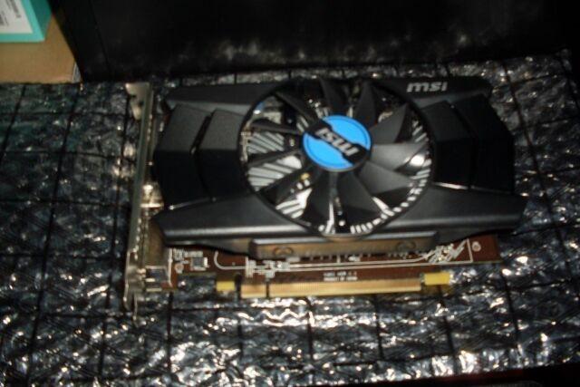MSi R7 250 2GD3 OC Graphics card Radeon R7 250 2GB DDR3 GPU Gaming HDMI |  in Hoo, Kent | Gumtree