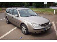 Ford mondeo 2.0 tdci lx estate 2002 52 reg