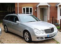 Automatic Mercedes Benz E Class Estate Diesel with low milege,7 Seater