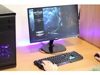 Fast Great Value Gaming PC Desktop Computer Tower Windows 10 Nvidia GTX Graphics Card 8GB Ram