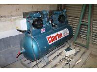 Clarke XE37/270 (O/L) Industrial Air Compressor (230V 1ph)