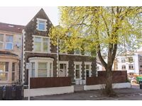 large 1 bed flat on tree lined road near city centre shops & M4 link roads part furnished £650