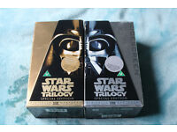 Star Wars Trilogy Special Edition VHS set with Wide Screen Edition