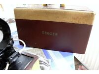 SINGER ELECTRIC SEWING MACHINE CIRCA 1957 FOR COLLECTION ONLY FROM THE GU16 AREA OF SURREY