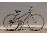 Vintage Peugeot 18 Speed Size 21 Mixtie Ladies Bike in Full Working Order