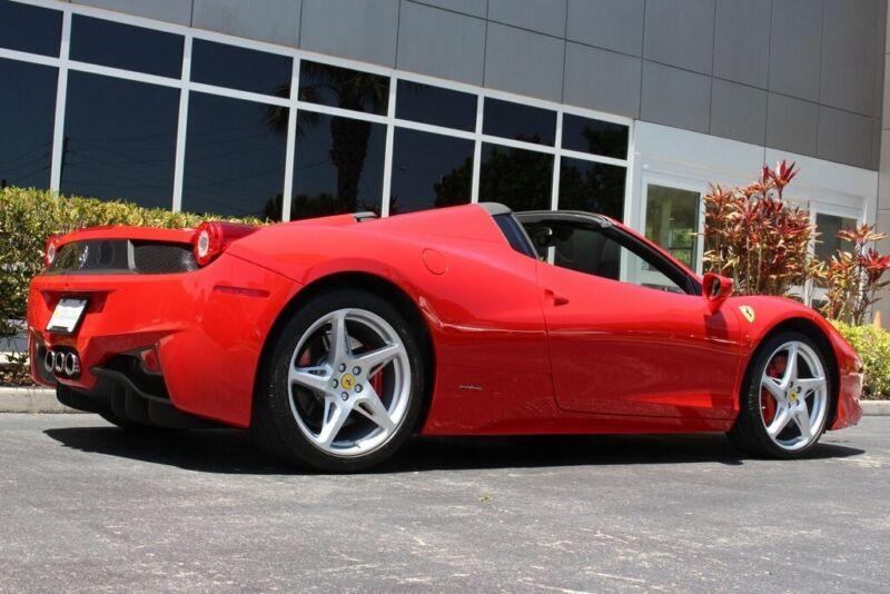 Image 10 Voiture Européenne d'occasion Ferrari 458 2014