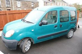 Adapted/wheelchair accessible Renault Kangoo
