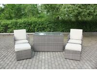 Bernal cube 2 chairs Garden furniture