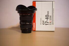 Canon 17-40 F4 L USM Lens