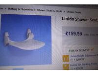 linido shower seat new