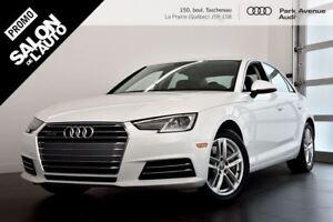2017 Audi A4 2.0 TFSI KOMFORT ! CERTIFIÉ INCLUS !