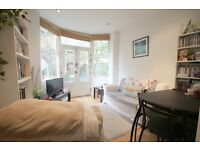 BRIGHT AND VERY SPACIOUS (two) 2 BED/BEDROOM FLAT - WITH OWN GARDEN - N8
