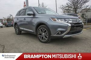2016 Mitsubishi Outlander GT|REAR CAMERA|ALLOYS|SUNROOF|LEATHER|