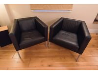Leather Chairs for Office, Reception or Study