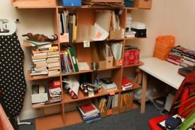 Great bookcase, perfect for the home office or bedroom, packs flat for transport