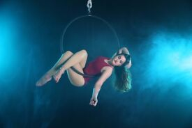 Essential aerial circus training - four week course 2018 at My Aerial Home